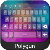 Polygon Keyboard Theme icon