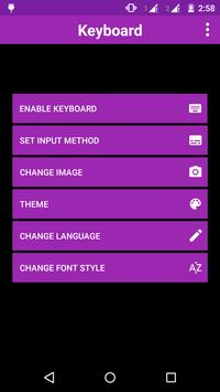 Polygon Keyboard Theme apk screenshot
