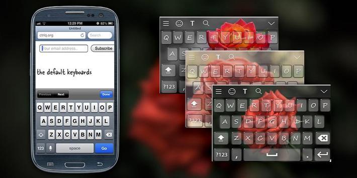 Rose Keyboard Theme poster
