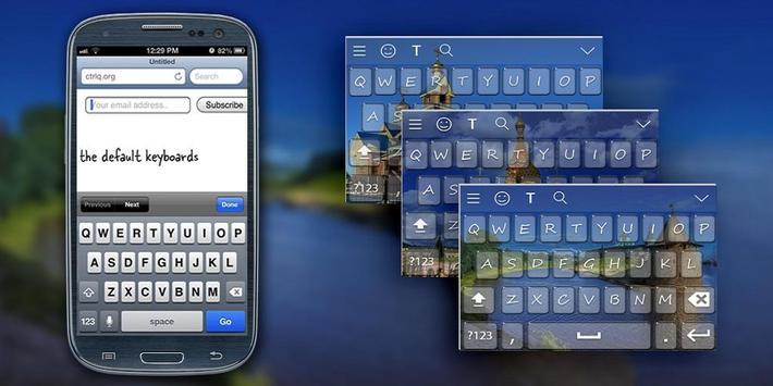 Russia Keyboard Theme poster