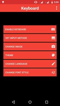 Russia Keyboard Theme apk screenshot