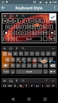 Solar Keyboard Theme apk screenshot