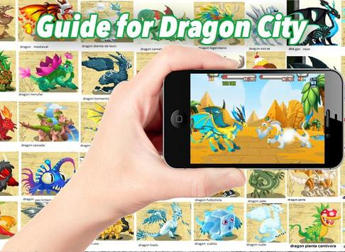 Guide for Dragon City poster
