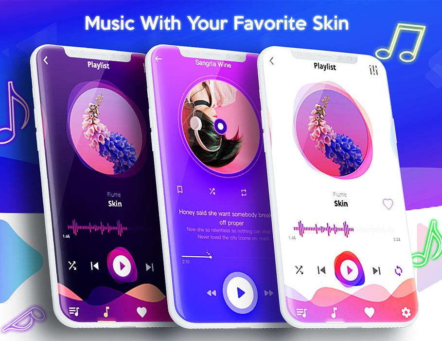 iMusic-Music Player Mp3 For iphone-X IOS12 FREE for Android - APK