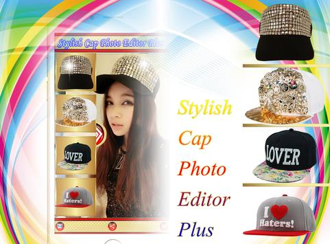 Stylish Cap Photo Editor Plus apk screenshot