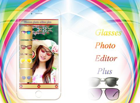 Glasses Photo Editor poster