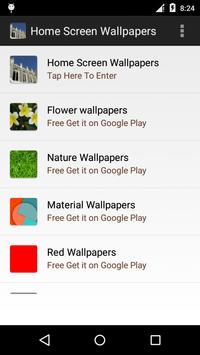 Home Screen Wallpapers apk screenshot
