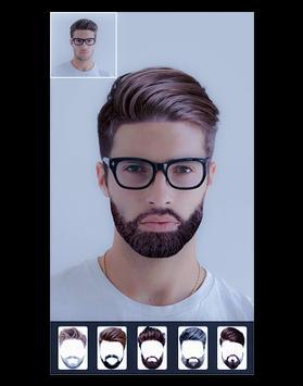 Stylish Boys hair style    Photo Editor Online apk screenshot