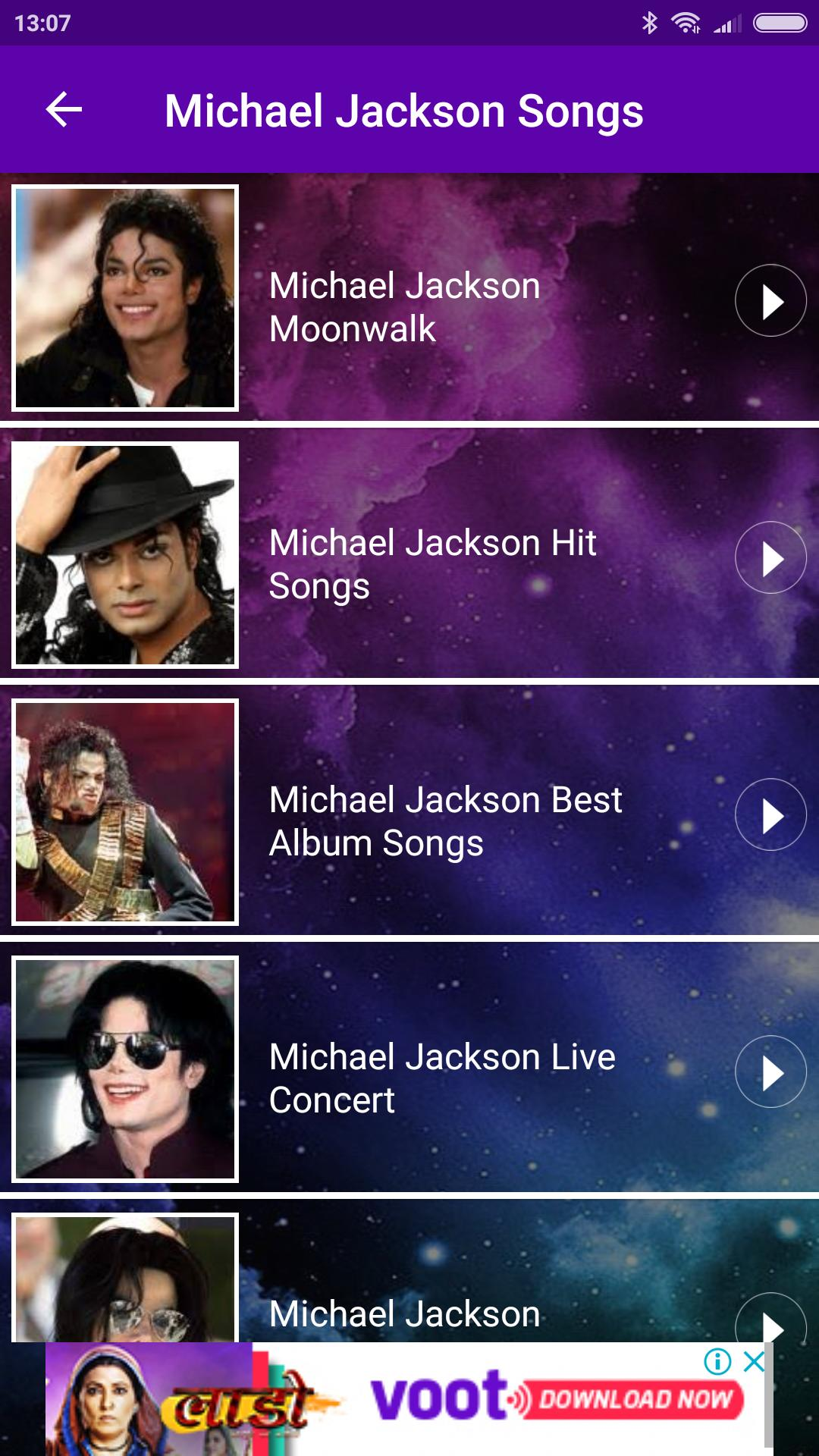 Michael Jackson All Video Songs for Android - APK Download