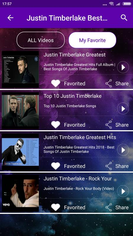 justin timberlake greatest hits download
