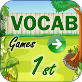 Vocabulary Games First Grade icon
