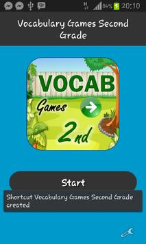 Vocabulary Games Second Grade poster