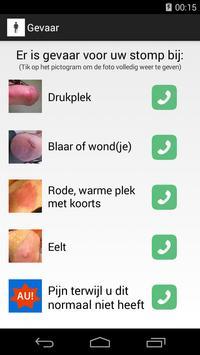 Beenamputatie en prothese screenshot 1