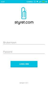 Styret.com Drift poster