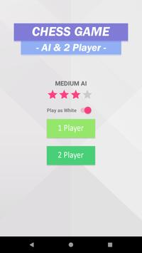 Easy Chess (2 player & AI mode) poster
