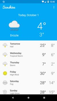 Live Weather App (Sunshine) for Android - APK Download