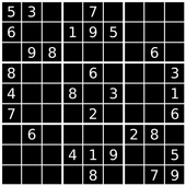Sudok Black 6 icon