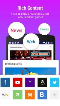 Web Browser apk screenshot