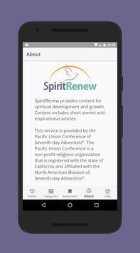 SpiritRenew poster