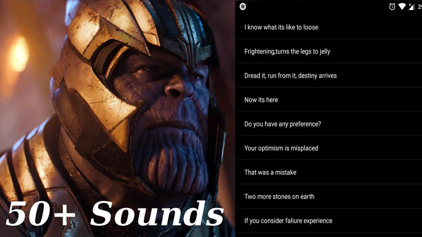 Thanos SoundBoard from Avengers Infinity War for Android - APK Download
