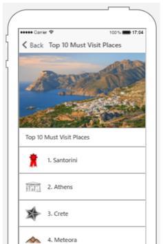 Greece Travel Advisor screenshot 1