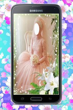 Bridal Hijab Photo Montage screenshot 4