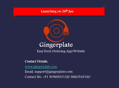 Gingerplate - Food Ordering screenshot 7