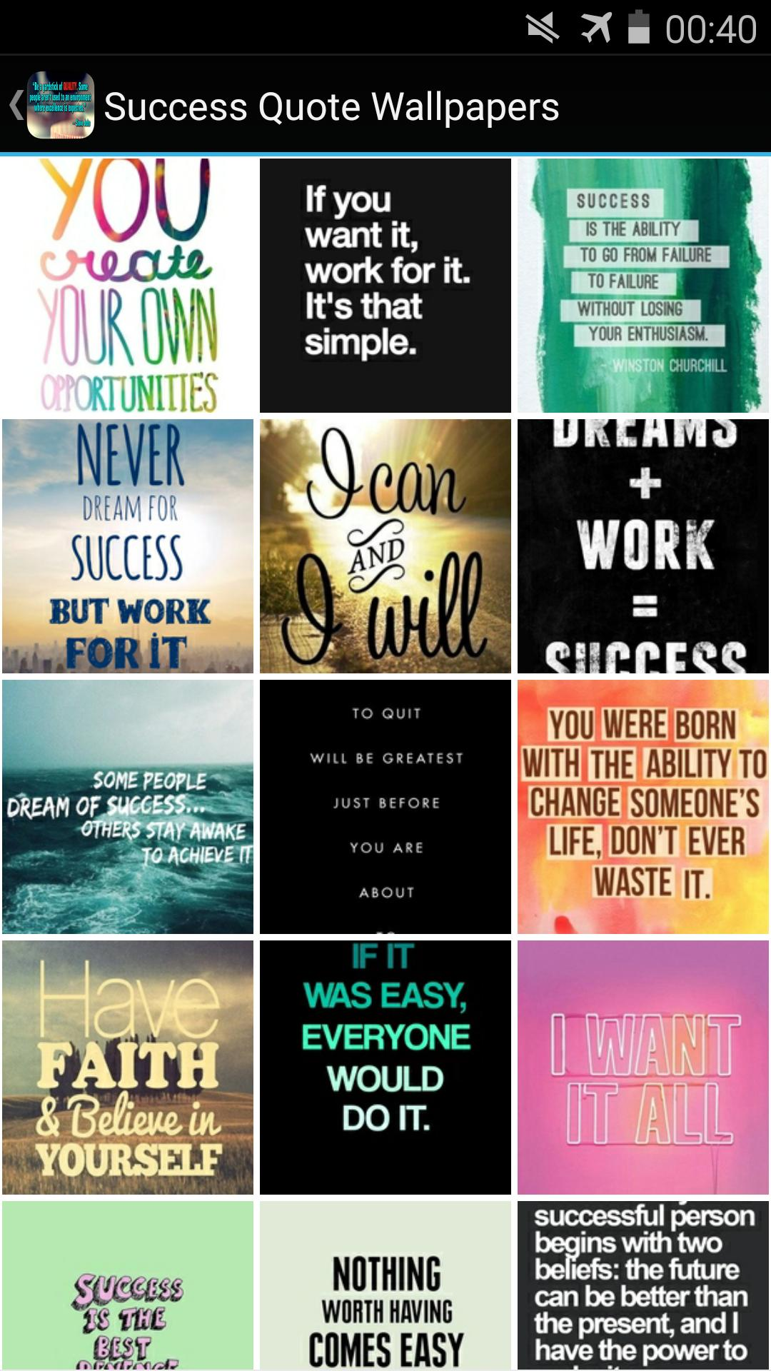 Success Quotes Wallpapers Hd For Android Apk Download