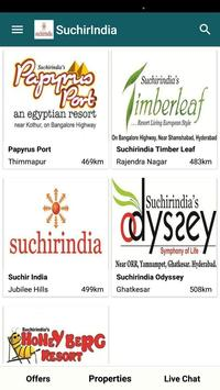 SuchirIndia, Real Estate and Infrastructure App poster