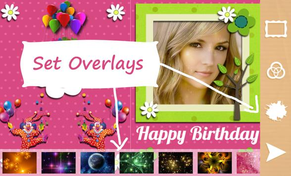 Birthday Photo Frame & Collage apk screenshot