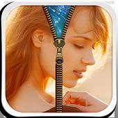 My Photo Zipper Lock Screen icono