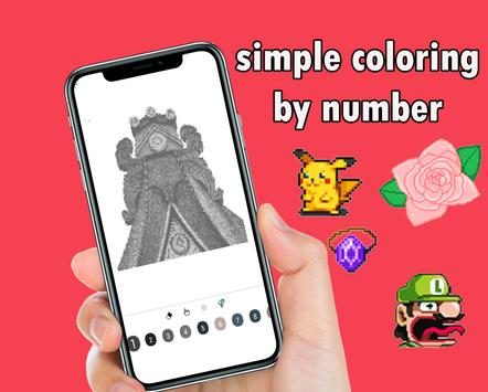 free coloring by number pixel sandbox screenshot 2
