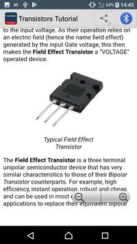 Transistors Tutorial screenshot 3