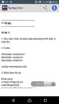 Học lập trình C++ screenshot 4