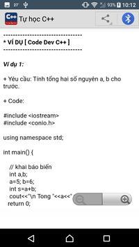 Học lập trình C++ screenshot 2