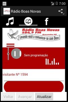 Rádio Boas Novas screenshot 4