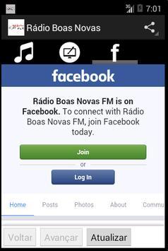 Rádio Boas Novas screenshot 2