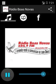 Rádio Boas Novas screenshot 3