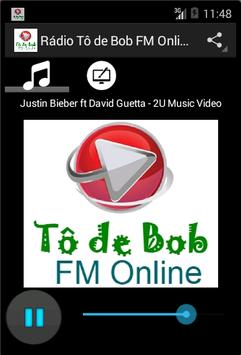 Rádio Tô de Bob FM Online poster