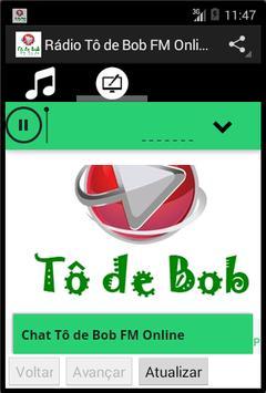 Rádio Tô de Bob FM Online apk screenshot
