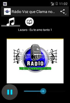 Rádio Voz que Clama no Deserto poster