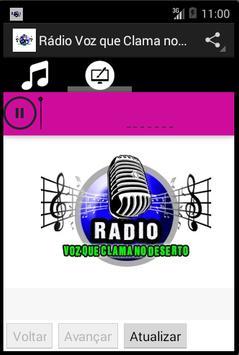 Rádio Voz que Clama no Deserto screenshot 1