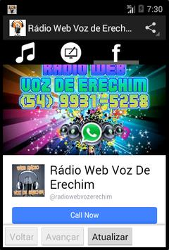 Rádio Web Voz de Erechim screenshot 4