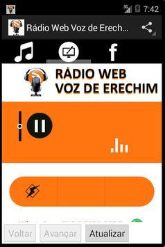 Rádio Web Voz de Erechim screenshot 2