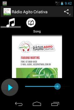 Rádio Agito Criativa apk screenshot