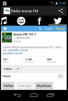 Rádio Araras FM screenshot 3