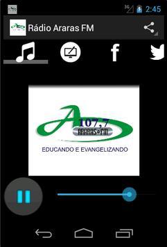 Rádio Araras FM poster