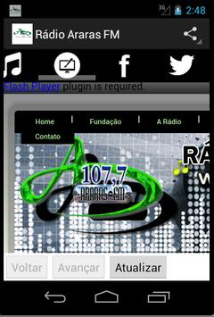 Rádio Araras FM screenshot 1