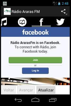 Rádio Araras FM screenshot 2
