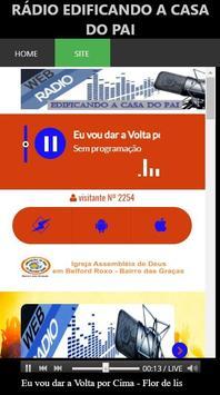 Rádio Edificando a Casa do Pai screenshot 5